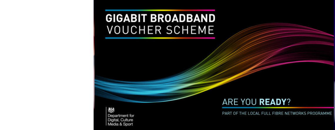 Rural Gigabit Broadband Top-Up Voucher